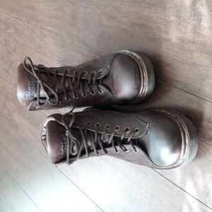 Vintage Dr Martens air walk boots English sz 6 Euro 39 US (414-1)